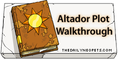 Altador Plot Walkthrough Logo
