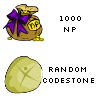 1000 NP and a random codestone