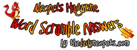 Word Scramble Logo