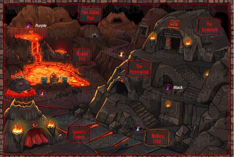 Worm Locations Moltara Caverns