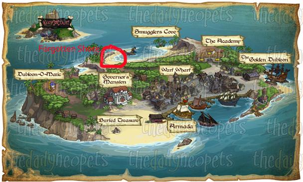 forgotten shore location