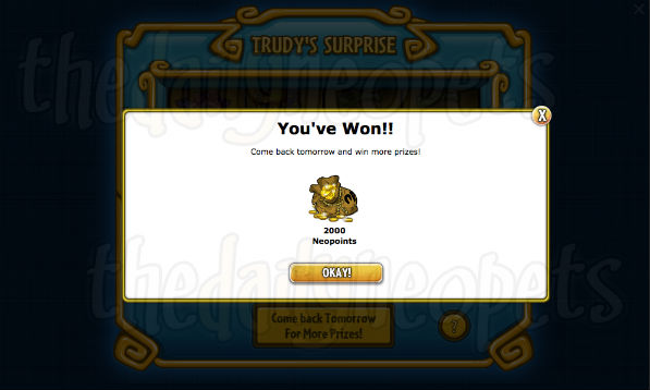 Trudy's Surprise | The Daily Neopets