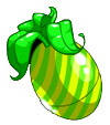 Yellow and Green Striped Negg