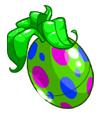 Green Polkadot Negg