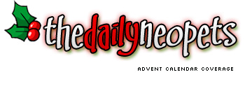 Neopets Advent Calendar Coverage