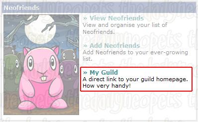 My Guild link