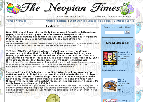 Neopian Times Editorial