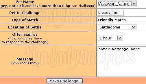 Challenge form