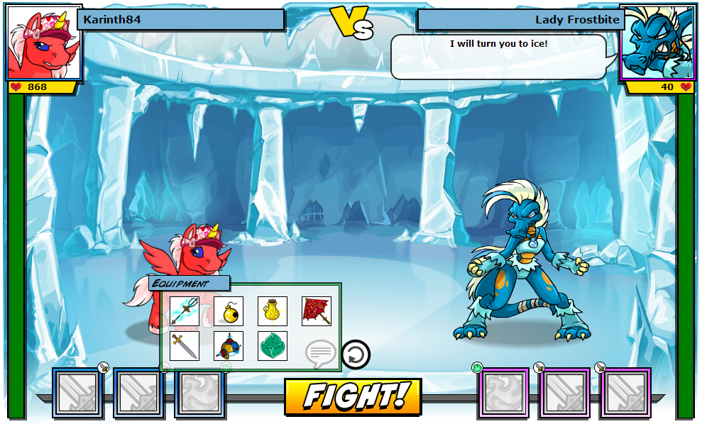 Inside the Battledome - The Daily Neopets