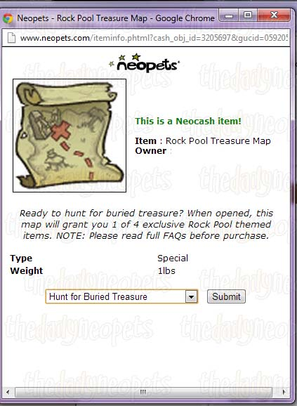 Treasure Maps - The Daily Neopets