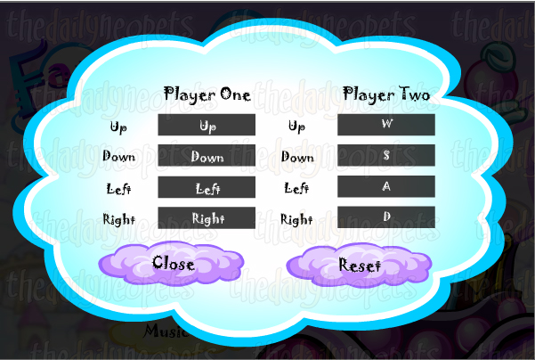 Faerie Cloud Racer Controls