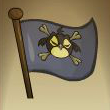 Black Pawkeet Flag