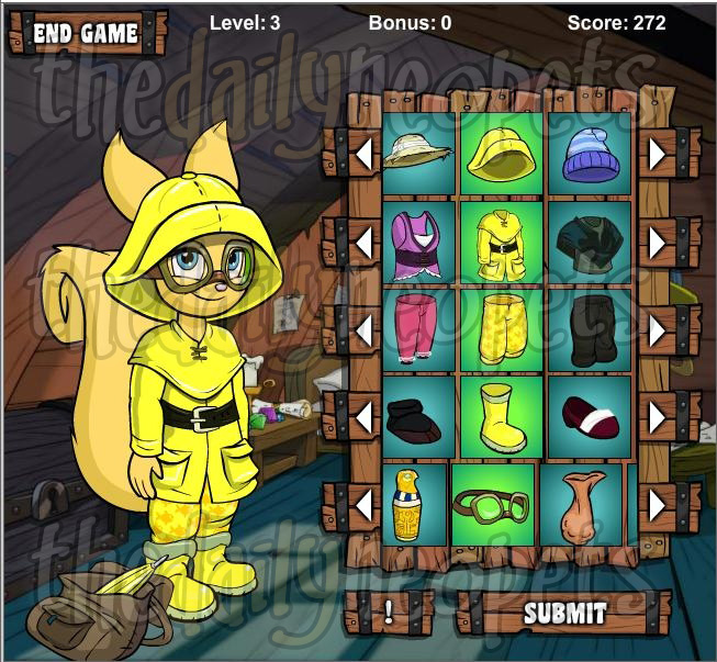 Hannah and the Wardrobe of Adventure - The Daily Neopets