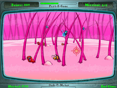 Itchy Invasion Screenshot