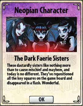 The Dark Faerie Sisters Card