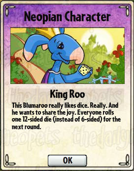 King Roo Card