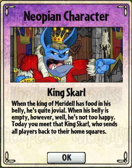 King Skarl Card