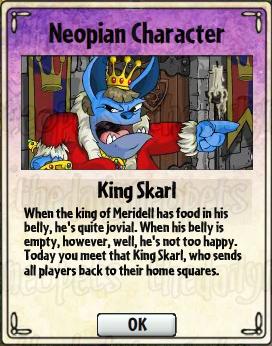 King Skarl Card