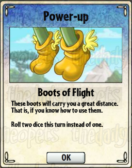 Boots of Flight Card