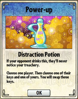 Distraction Potion Card