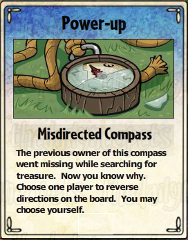 Misdirected Compass Card