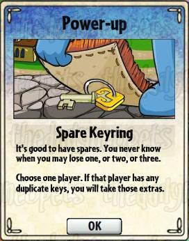 Spare Keyring Card