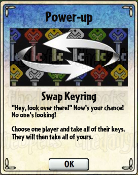 Swap Keyring Card