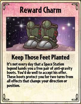 Keep Those Feet Planted Card