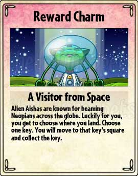 A Visitor From Space Card