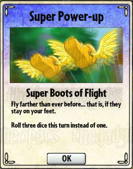 Super Boots of Flight Card