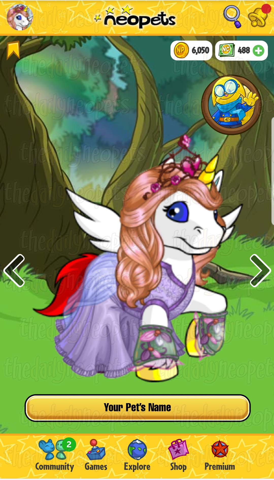 Neopets Mobile Site Beta The Daily Neopets