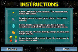 Instruction Screen